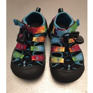 4d82a06dc36a Keen Shoes - Keen Tie Dyed rainbow sandals Toddler size 10